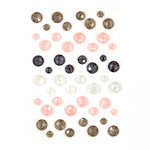 Prima - Amelia Rose Collection - Say It In Crystals - Self Adhesive Jewels