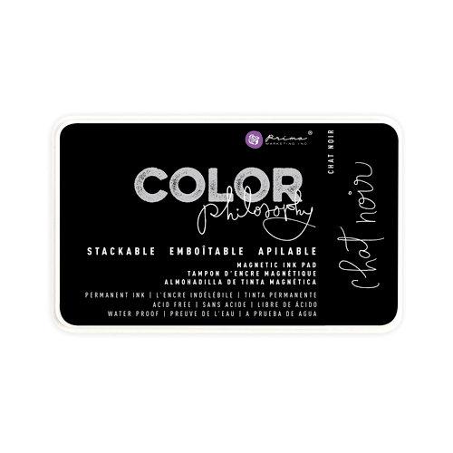 Prima - Color Philosophy - Stackable Magnetic Ink Pad - Chat Noir
