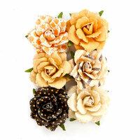 Prima - Amber Moon Collection - Flower Embellishments - Hazel