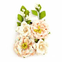 Prima - Heaven Sent 2 Collection - Flower Embellishments - Jolie