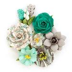 Prima - Zella Teal Collection - Flower Embellishments - Wanderer