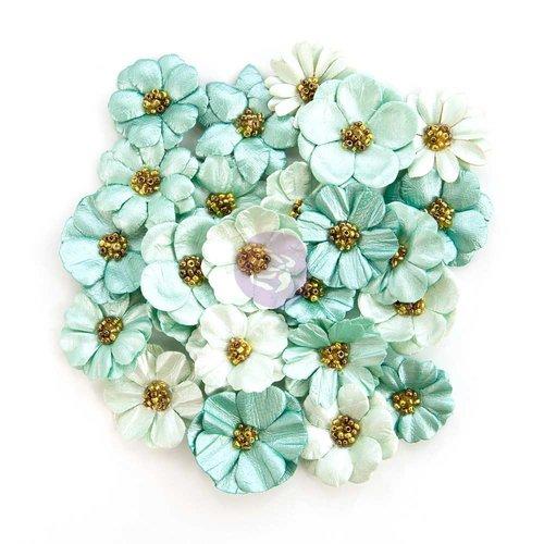 Prima - Zella Teal Collection - Flower Embellishments - Zella Dreams