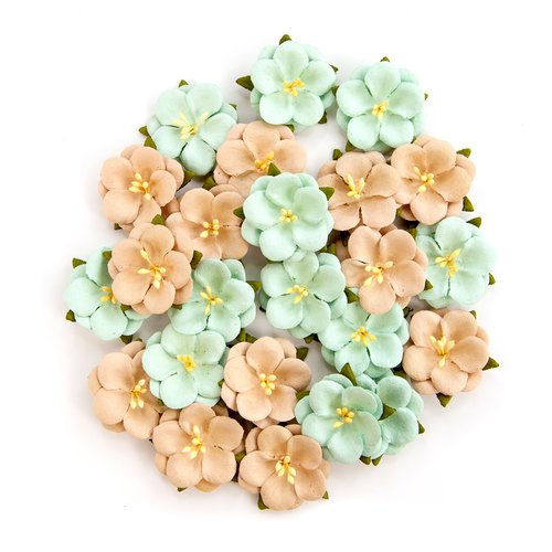 Prima - Zella Teal Collection - Flower Embellishments - Blissful Delight