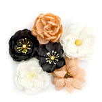 Prima - Amelia Rose Collection - Flower Embellishments - Collected