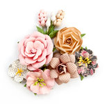 Prima - Amelia Rose Collection - Flower Embellishments - Love Letters