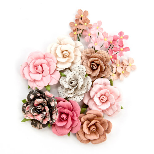 Prima - Amelia Rose Collection - Flower Embellishments - Love and Luck