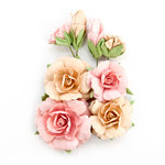 Prima - Amelia Rose Collection - Flower Embellishments - Write Me Soon