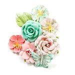 Prima - Havana Collection - Flower Embellishments - Perla