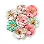 Prima - Havana Collection - Flower Embellishments - Blanca