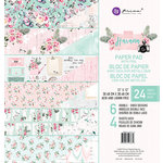 Prima - Havana Collection - 12 x 12 Paper Pad with Foil Accents