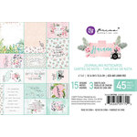 Prima - Havana Collection - 4 x 6 Journaling Cards