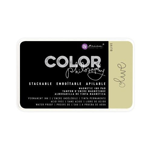 Prima - Color Philosophy - Stackable Magnetic Ink Pad - Olive