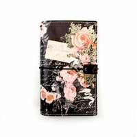 Prima - My Prima Planner Collection - Travelers Journal - Personal - Vintage Floral - Undated