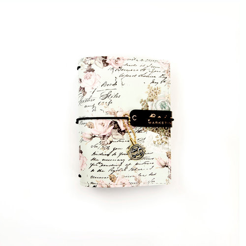 Prima - My Prima Planner Collection - Travelers Journal - Passport - Minty Dreams - Undated