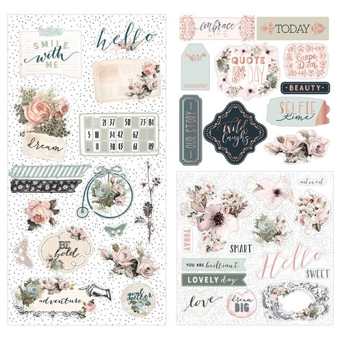 Prima - My Prima Planner Collection - Travelers Journal - Ephemera - Vintage Dreams