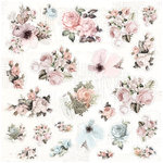 Prima - My Prima Planner Collection - Travelers Journal - Ephemera - Floral