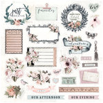 Prima - My Prima Planner Collection - Travelers Journal - Ephemera - Alpha