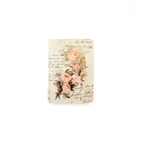 Prima - My Prima Planner Collection - Travelers Journal - Passport - Insert - Dusty Roses