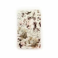 Prima - My Prima Planner Collection - Travelers Journal - Personal - Insert - Floral and Script