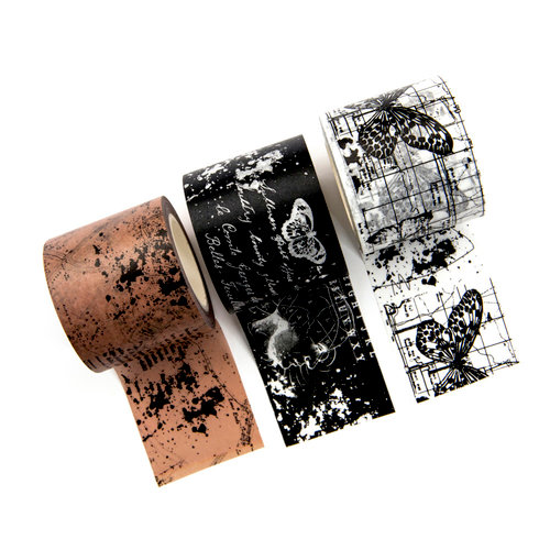 Prima - My Prima Planner Collection - Traveler's Journal - Decorative Tape - Inked Maps
