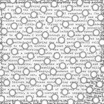 Prima - Paintables - 12 x 12 Paper - Circle