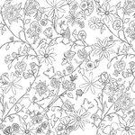 Prima - Paintables - 12 x 12 Paper - Roxanne