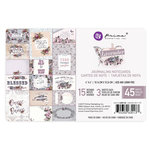 Prima - Lavender Collection - 4 x 6 Journaling Cards