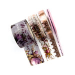 Prima - Lavender Collection - Decorative Tape with Foil Accents