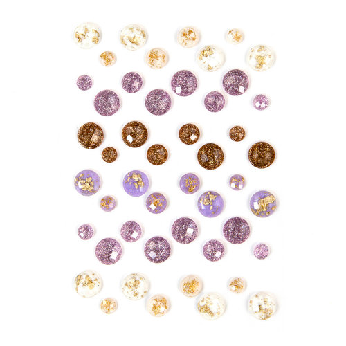 Prima - Lavender Collection - Say It In Crystals - Self Adhesive Jewels