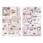 Prima - Lavender Collection - Cardstock Stickers with Foil Accents - Quote
