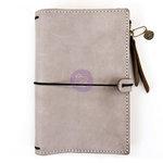 Prima - My Prima Planner Collection - Traveler's Journal - Leather Essential - Warm Stone - Undated