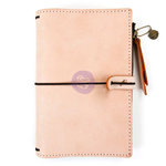 Prima - My Prima Planner Collection - Traveler's Journal - Leather Essential - Peach - Undated
