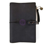 Prima - My Prima Planner Collection - Travelers Journal - Leather Essential - Nightfall - Undated
