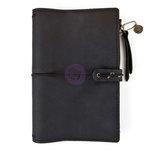 Prima - My Prima Planner Collection - Traveler's Journal - Leather Essential - Nightfall - Undated
