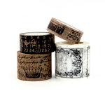 Prima - My Prima Planner Collection - Traveler's Journal - Decorative Tape - Vintage - Craft and White