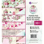 Prima - Misty Rose Collection - 6 x 6 Paper Pad