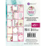 Prima - Misty Rose Collection - 3 x 4 Journaling Cards