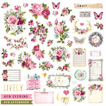Prima - Misty Rose Collection - Ephemera with Foil Accents - Two