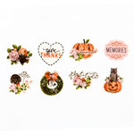 Prima - My Prima Planner Collection - Travelers Journal - Decorative Tape Stickers - Fall