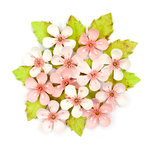 Prima - Cherry Blossom Collection - Flower Embellishments - Briella