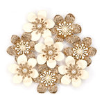 Prima - Cherry Blossom Collection - Flower Embellishments - Ariella