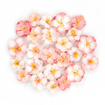 Prima - Cherry Blossom Collection - Flower Embellishments - Serene