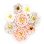 Prima - Cherry Blossom Collection - Flower Embellishments - Thea