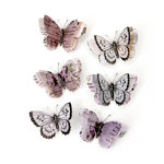 Prima - Lavender Collection - Butterfly Embellishments - Aislinne