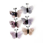 Prima - Lavender Collection - Butterfly Embellishments - Ophelia