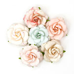 Prima - Love Story Collection - Flower Embellishments - Parisienne