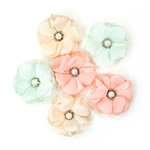Prima - Love Story Collection - Flower Embellishments - Charlotte
