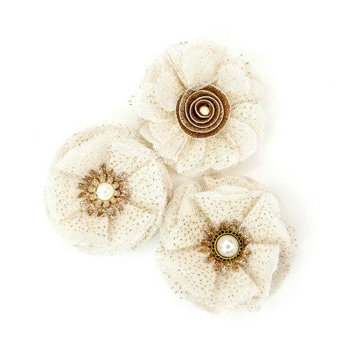 Prima - Love Story Collection - Flower Embellishments - Antoinette