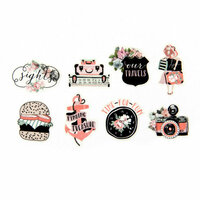 Prima - My Prima Planner Collection - Travelers Journal - Decorative Tape Stickers - Summer