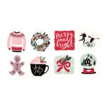 Prima - My Prima Planner Collection - Travelers Journal - Decorative Tape Stickers - Winter